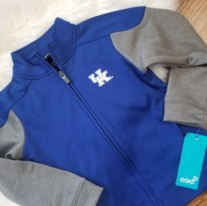 NEW Kentucky Wildcats track jacket zip sweatshirt